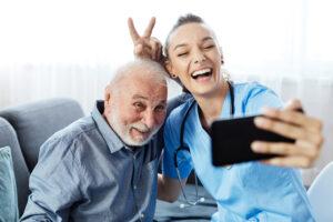 senior home care technology